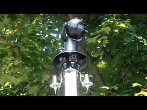 Rapid Deploy CCTV Trailer Mast