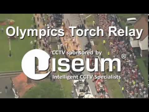 Olympics Torch Relay CCTV Security