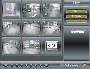 video analytics software GUI