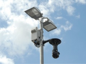 Town Centre Regeneration - Redeployable CCTV camera