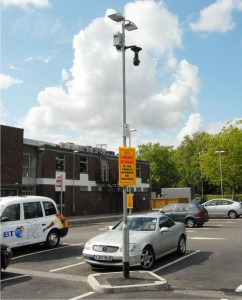 Town Centre Regeneration using Redeployable CCTV cameras