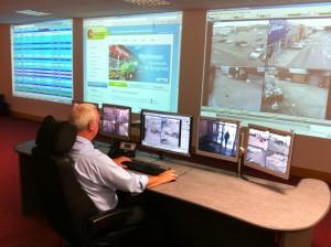 CCTV surveillance of Traffic Enforcement Camera