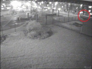 low light security camera example 2