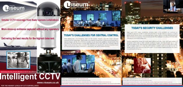 Intelligent CCTV surveillance - Standalone or Centrally Controlled