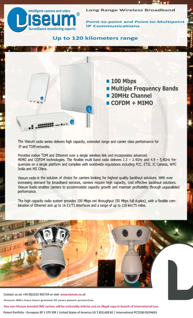 Long Range Wireless CCTV Camera Datasheet