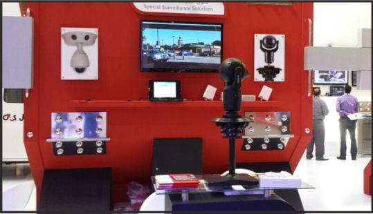 CCTV Camera Saudi Arabia - IFSEC Stand