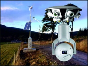 CCTV Nigeria - renewable energy mast