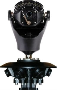 Virtual Gigapixel 360° CCTV Camera