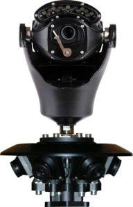 Virtual Gigapixel 360° CCTV Camera